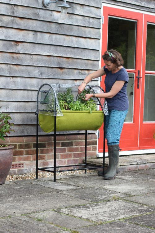 new garden products Haxnicks' Vigoroot Easy Table for the Garden