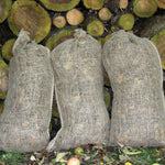 3 Composting Sacks in use-logs- Haxnicks