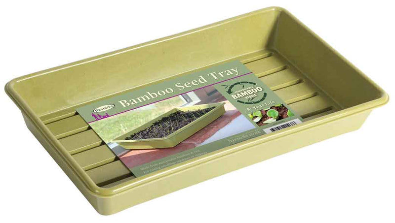 Haxnicks- Bamboo Seed Tray Sage Green - packshot