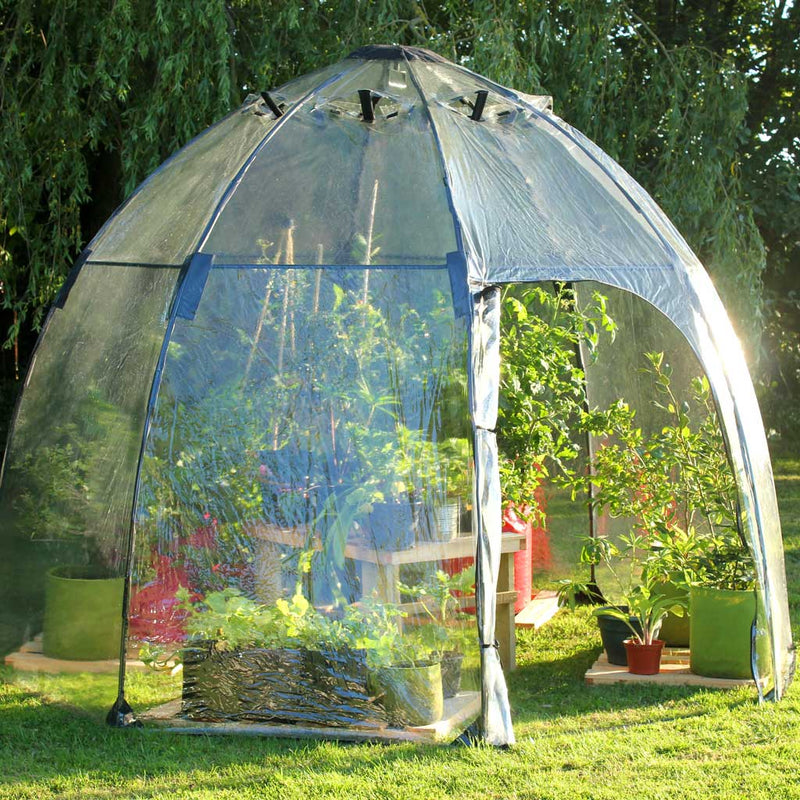 Sunbubble - Haxnicks- in use in garden