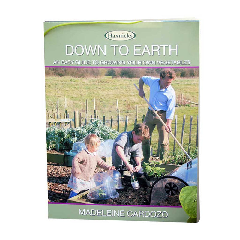 Haxnicks- Down To Earth - book cover