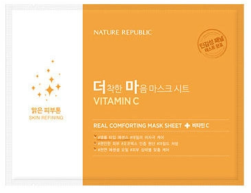 NATURE REPUBLIC - C-vitamin Real Comforting Mask Sheet