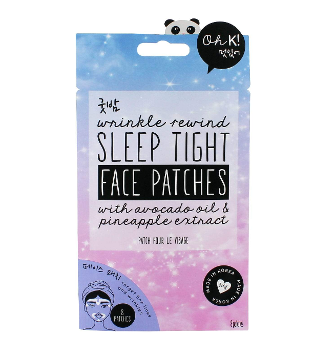 Oh K! – Wrinkle Rewind Sleep Tight Face Patches – Ansiktsplåster