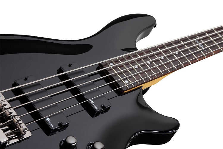 Schecter 3824-SHC SGR series 5-String Bass - Gloss Black