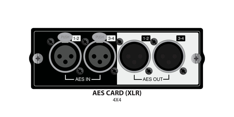 Soundcraft Si Series Option Card AES (XLR)
