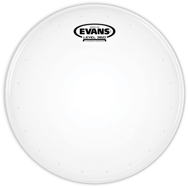 "Evans B14DRY 14"" Genera Dry Snare Head - Coated"