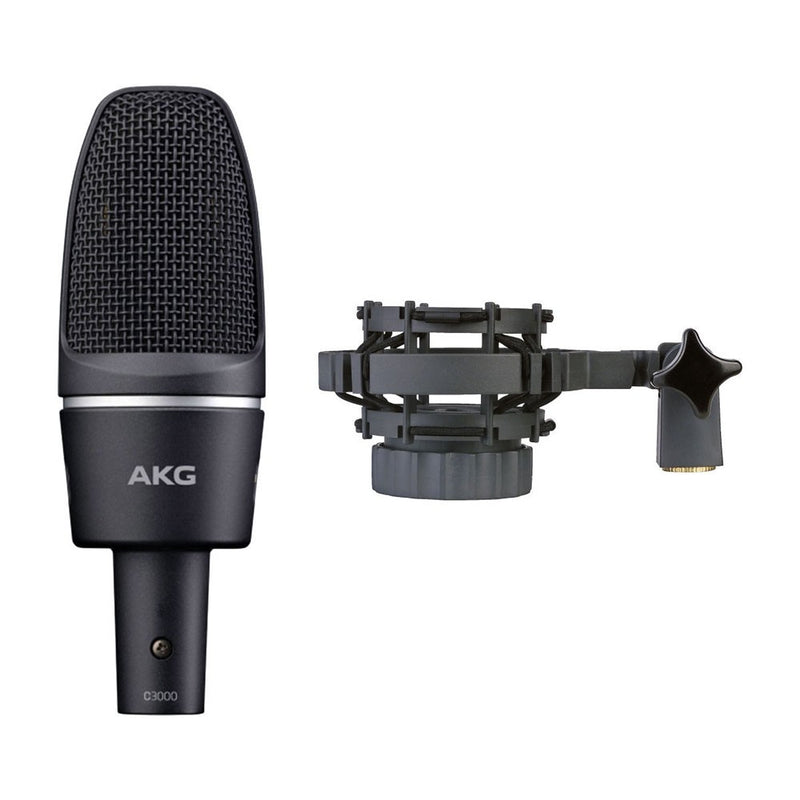 AKG C3000 High-Performance Large-Diaphragm Condenser Microphone