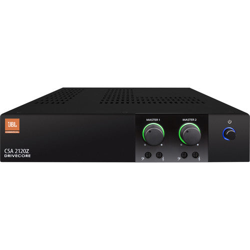 JBL CSA2120Z Commercial Series 2-Channel 120w 70/100v Power Amplifier