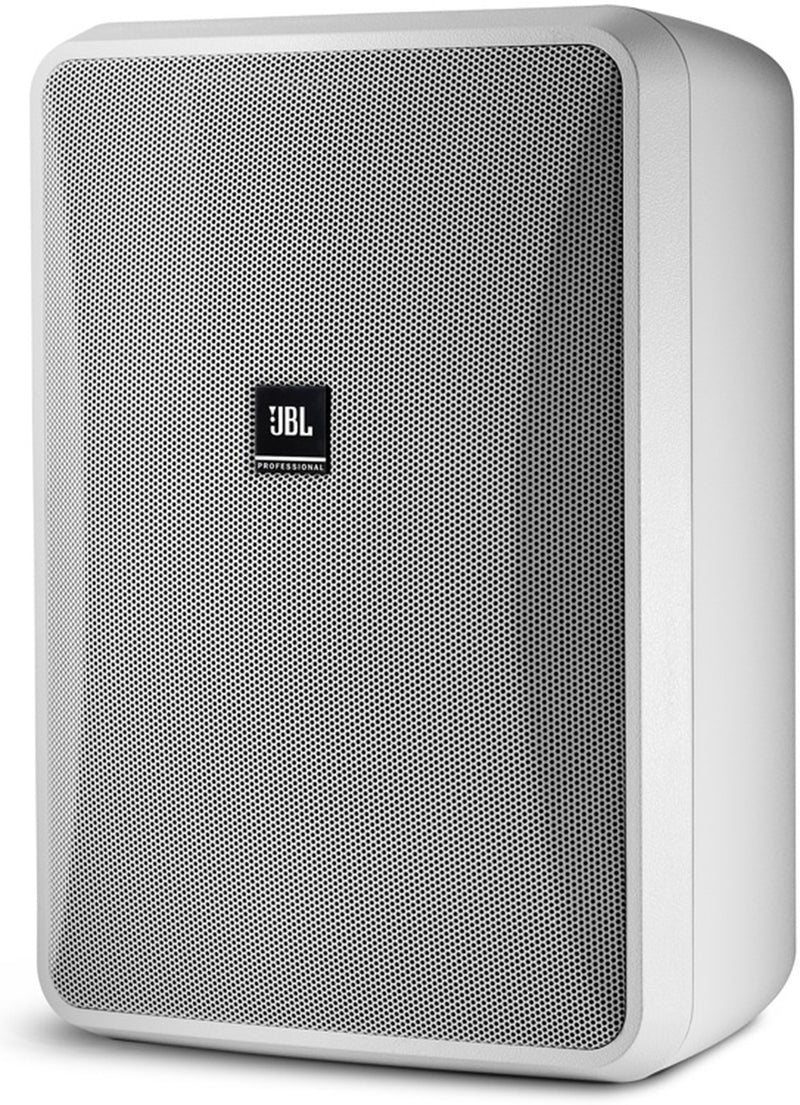 JBL 8'' 2-Way Surface-Mount Speaker, White