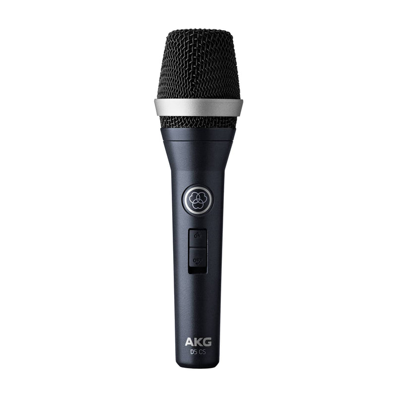 AKG D5CS Professional Dynamic Vocal Microphone With On/Off Switch