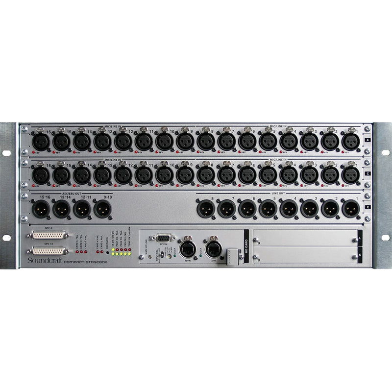 Soundcraft Compact Stagebox 32-in / 16-Out / CAT5