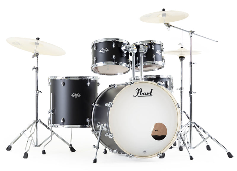 Pearl Export Series 5-piece Shell Pack, Satin Shadow Black