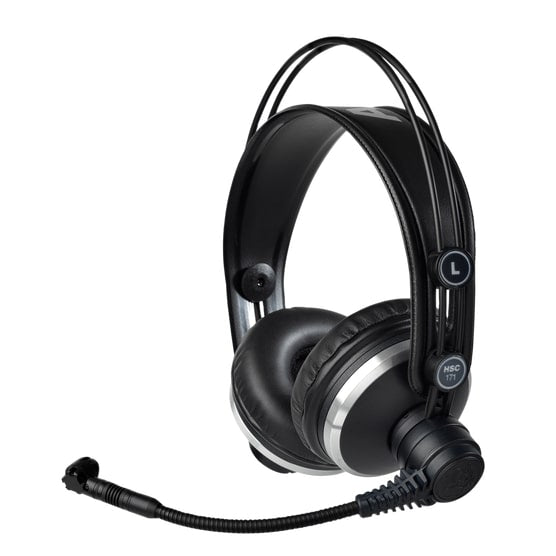 AKG HSC171 Professional Headset With Condenser Microphone