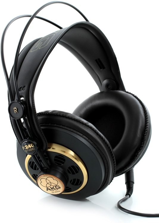 AKG K240S Pro Audio Semi-Open Studio Headphones