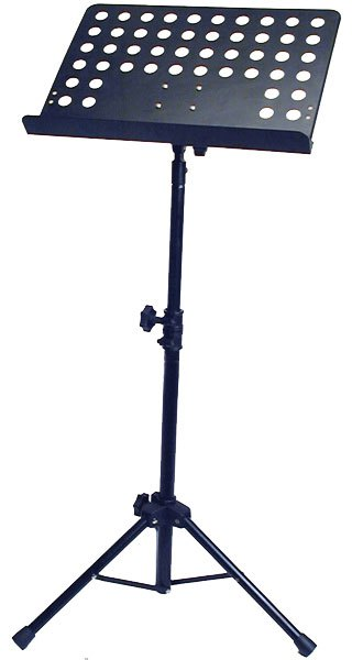 Profile MS130B Orchestral Music Stand With Holes - Black