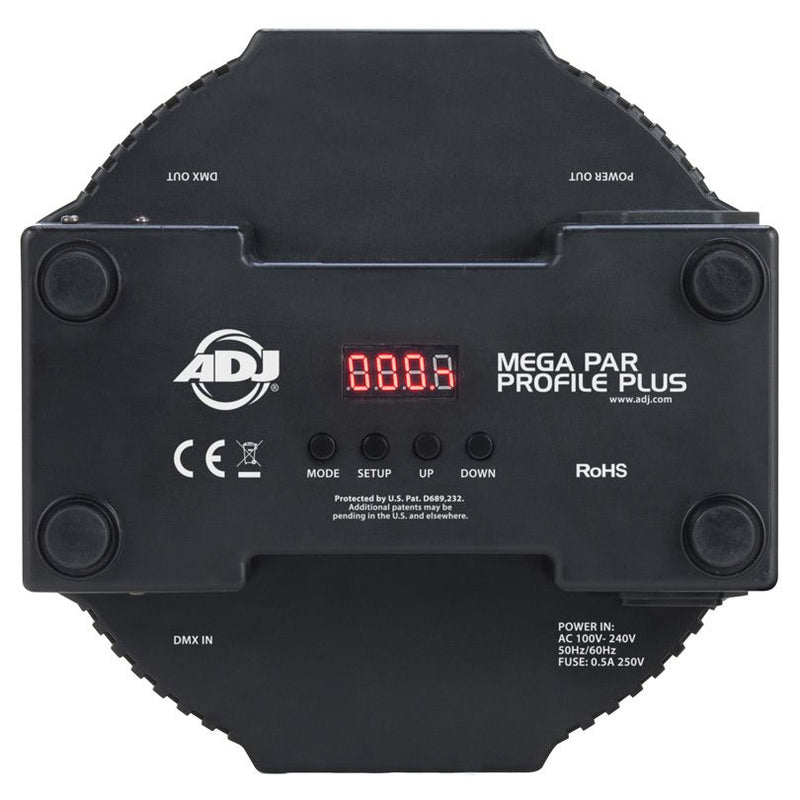 Mega Par Profile Plus DMX RGB Led Fixture
