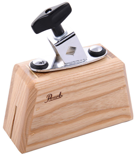 Pearl PAB-20 AshTone Wood Block With Holder - Small