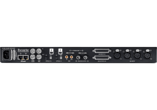Focusrite Pro Red 4Pre 24/192 58 In/64 Out Thunderbolt 2 Audio Interface