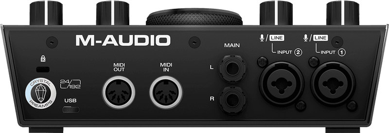 M-Audio AIR 192X6 2-In/2-Out USB Audio Interface