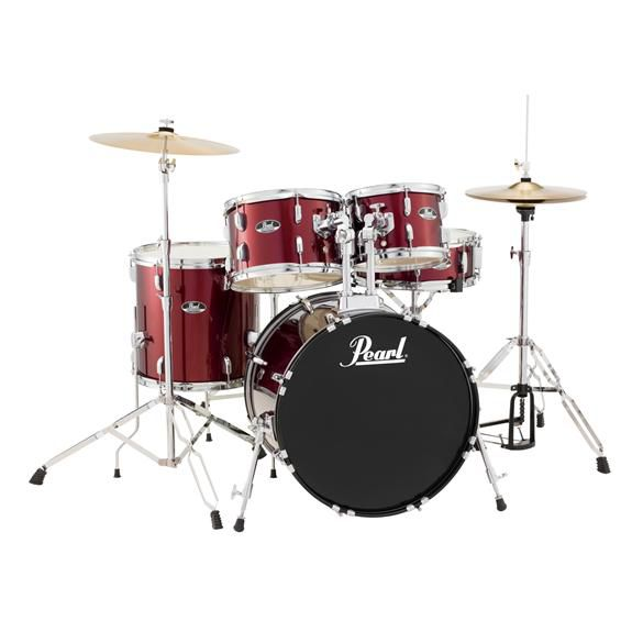 Pearl Roadshow 5-Piece Drum Set - Red Wine (20/14SD/14FT/12/10) Sonorisation Trans-Musical