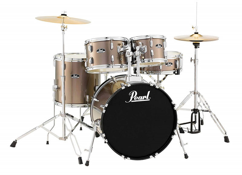 Pearl Roadshow 5-Piece Drum Set - Bronze (22/14SD/16FT/12/10)