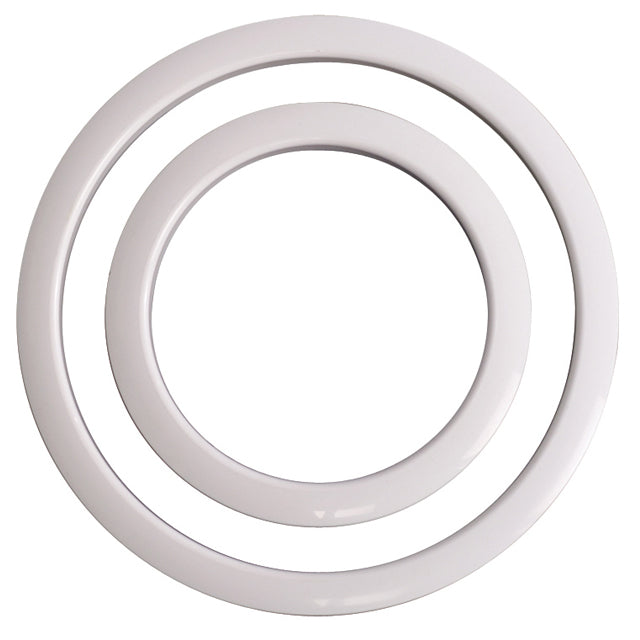 Gibraltar SC-GPHP-4W Port Hole Protector 4'' - White Finish