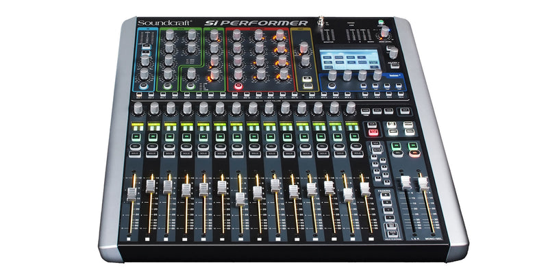Soundcraft SI-PERFORMER-1 16-Channel Digital Mixer with DMX Control