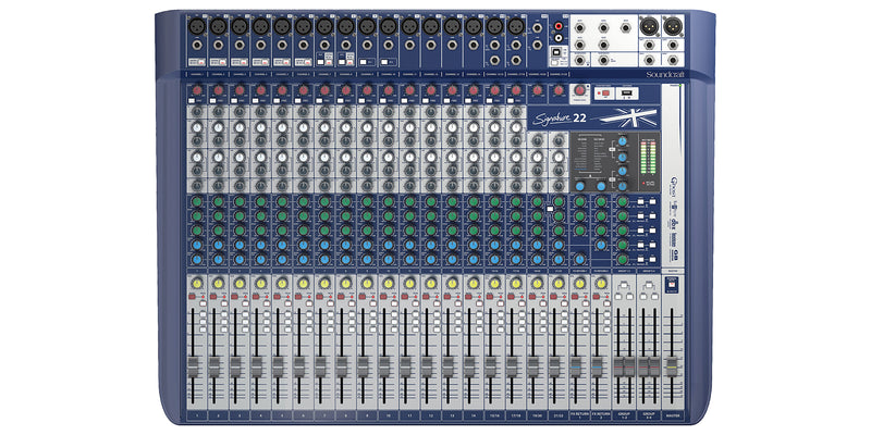 Soundcraft Signature 22-Channel Compact Analogue Audio Mixer