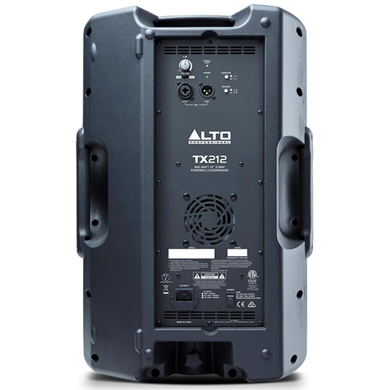 Alto TX212 Powered 2-Way 12'' Loudspeaker - 600w
