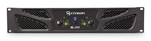 Crown XLI800 Two-Channel, 300W At 4Ohm Power Amplifier