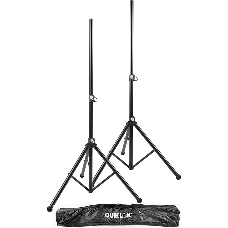 Quik Lok S171 Tripod-Style Speaker Stands With Bag (Pair)