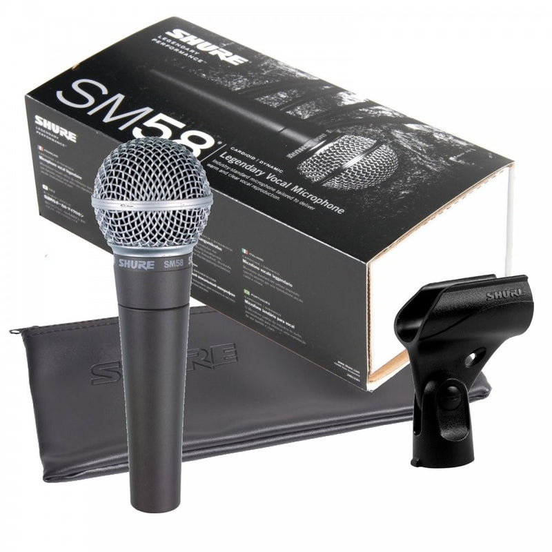 Shure SM58 Dynamic Cardioid Vocal Microphone