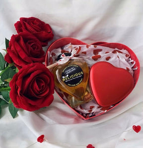 Valentines Honey & Chocolate Gift Box