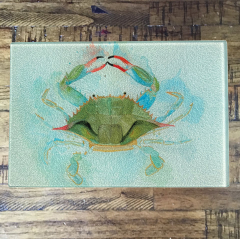 Blue Crab Cutting Board