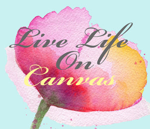 Live Live On Canvas Gift Card