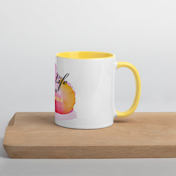 LLOC Logo - Mug with Color Inside