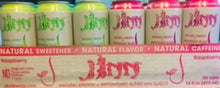 Load image into Gallery viewer, JINN Natural Energy Drinks. case 16 cans. (Each can $2.00 Free shipping)