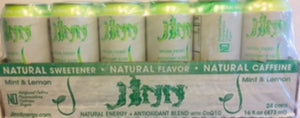 JINN Natural Energy Drinks. case 16 cans. (Each can $2.00 Free shipping)