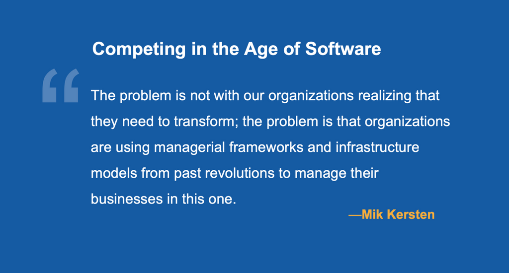 Competing the Age of Software
