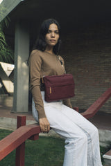 Torebka Barcelona Bum Bag Burgundy