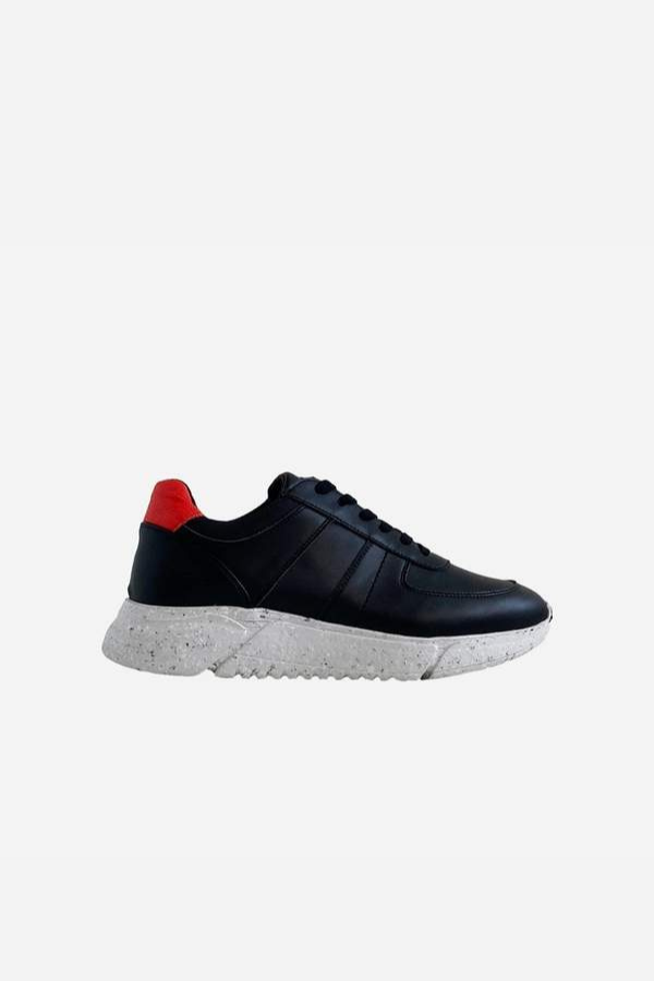 Challenge V2 Vegan Panel Sneaker Black - Fairclo