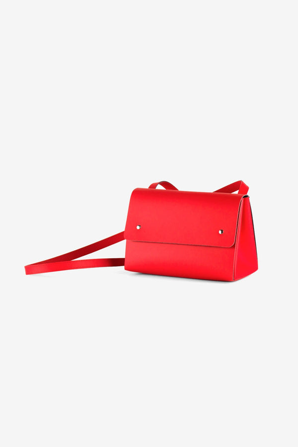 Torebka Triangle Bucket Red
