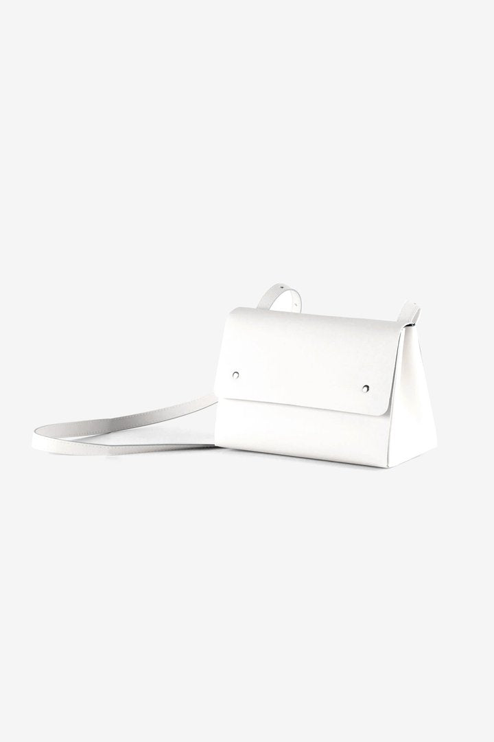 Torebka Triangle Bucket White
