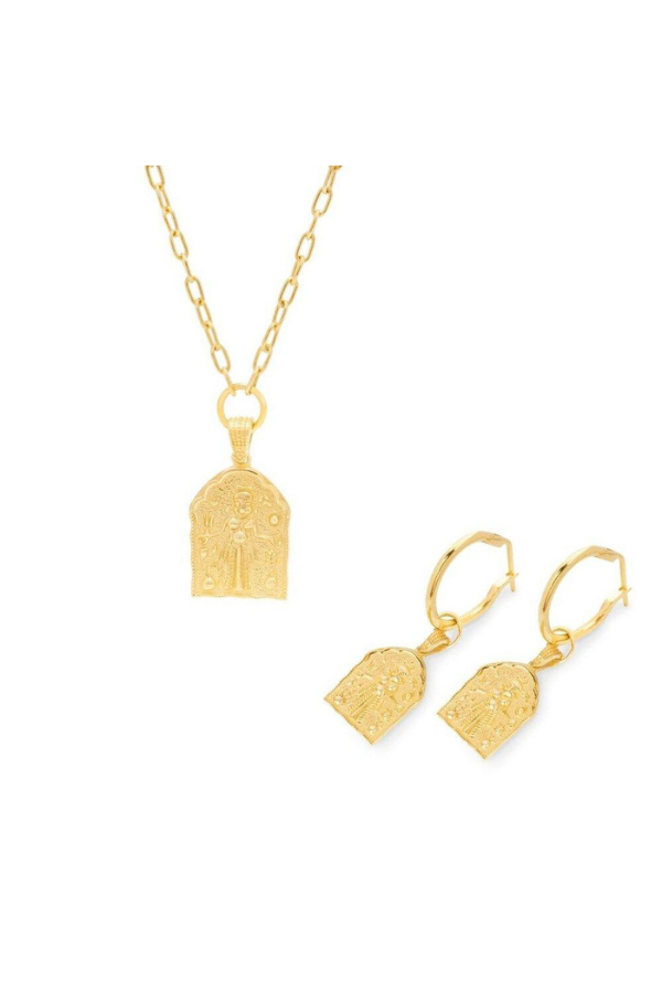 Kali Amulet Set Gold