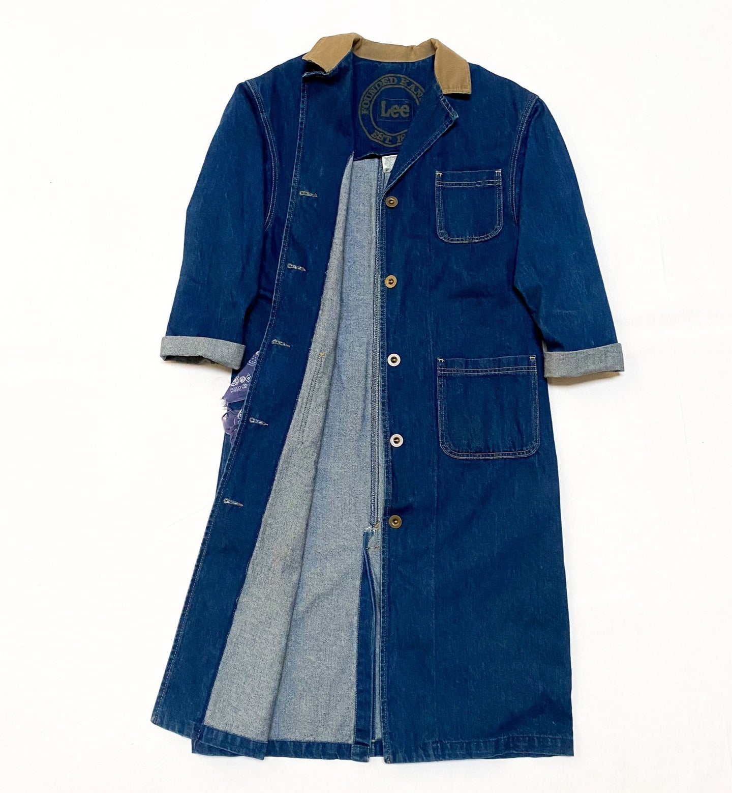 Vintage Lee Denim Duster