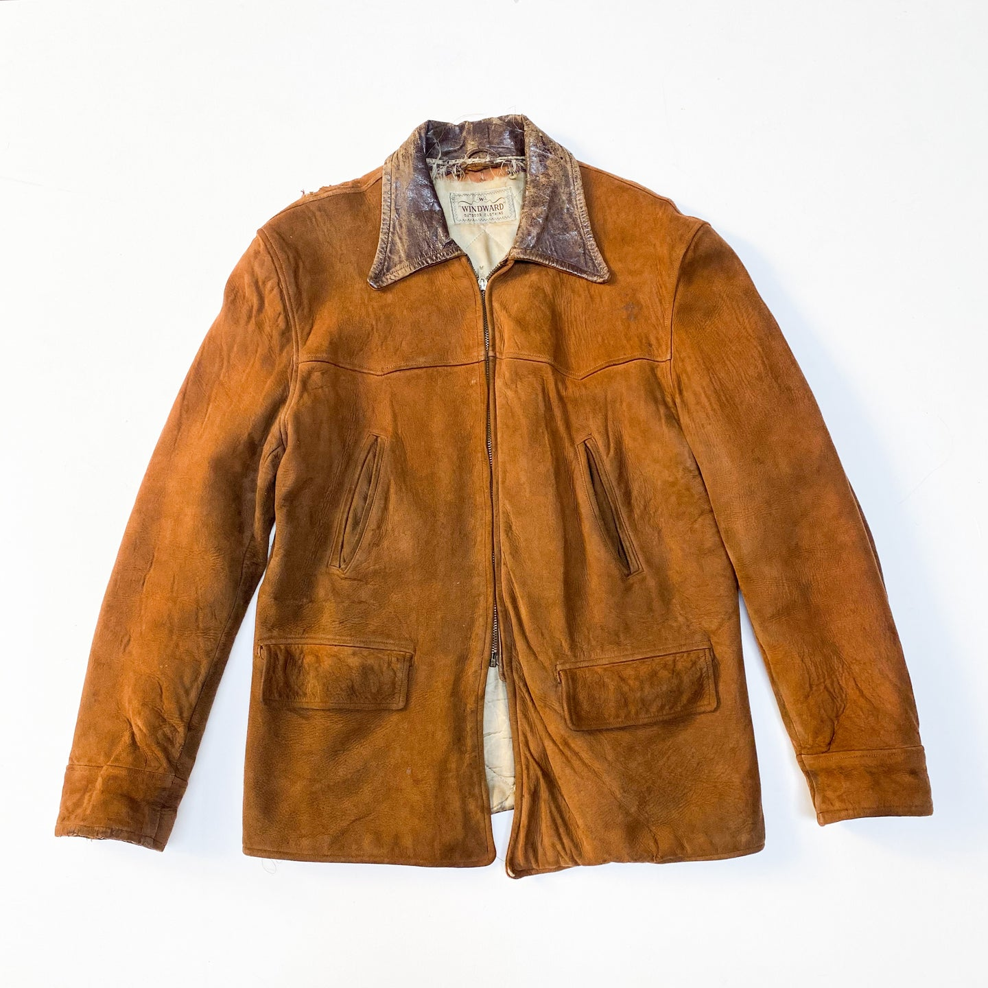 60s Windward Suede Leather Jacket