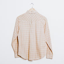 Load image into Gallery viewer, 60s Dead Stock Sears Plaid Western Shirt