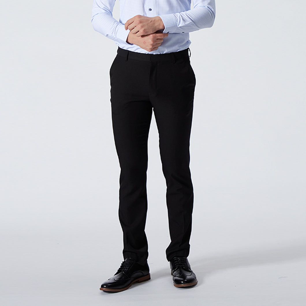Slim Fit Poly Twill Pants