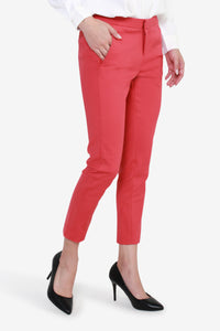 Cropped Skinny Double Weave Pants