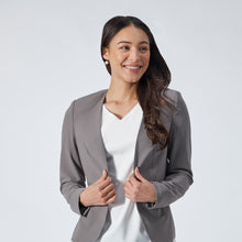 Load image into Gallery viewer, V-Neck Crepe Blazer